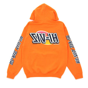 "Vizume ""HI-VIZ"" Hooded Pullover – Orange"