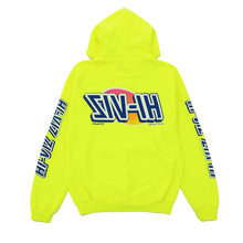 "Load image into Gallery viewer, Vizume ""HI-VIZ"" Hooded Pullover - Yellow"