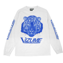 Load image into Gallery viewer, Vizume Tiger Longsleeve Tee - White