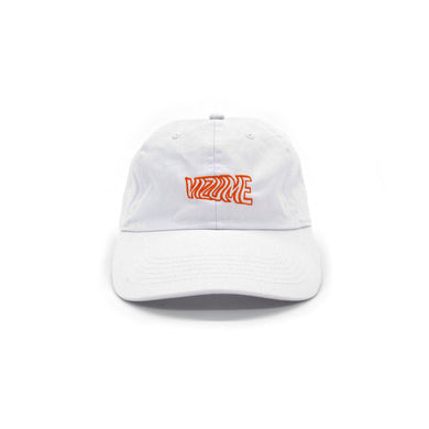 Wavy Cap - White/Orange