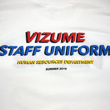 Load image into Gallery viewer, Staff Uniform Tee - White
