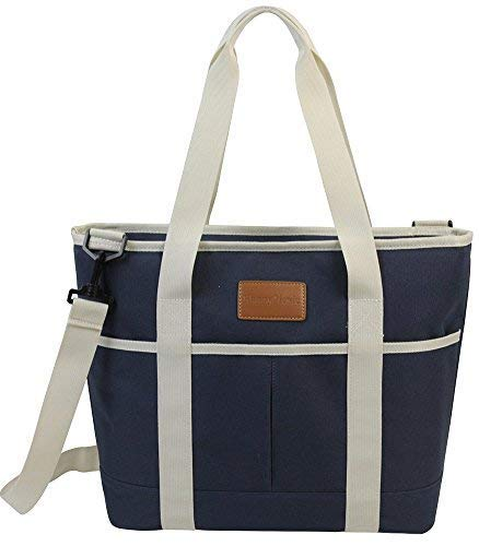 25CAN/16L Large Waterproof Insulated Tote Lunch Bag Blue - INNO STAGE