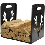 Firewood Log Rack Steel Log Wood Holder Indoor - INNO STAGE