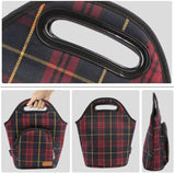 Insulated Lunch Bag Leak Proof Tote Bag Thick Reusable Lunch Bag Red - INNO STAGE