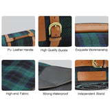 "Waterproof Picnic Blanket Handy Portable Beach Mat 87"" X 67"" - INNO STAGE"