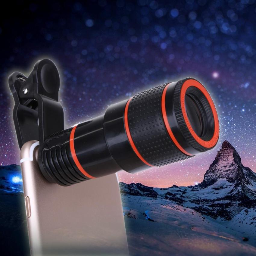 Clip-On Cell Phone Telescope