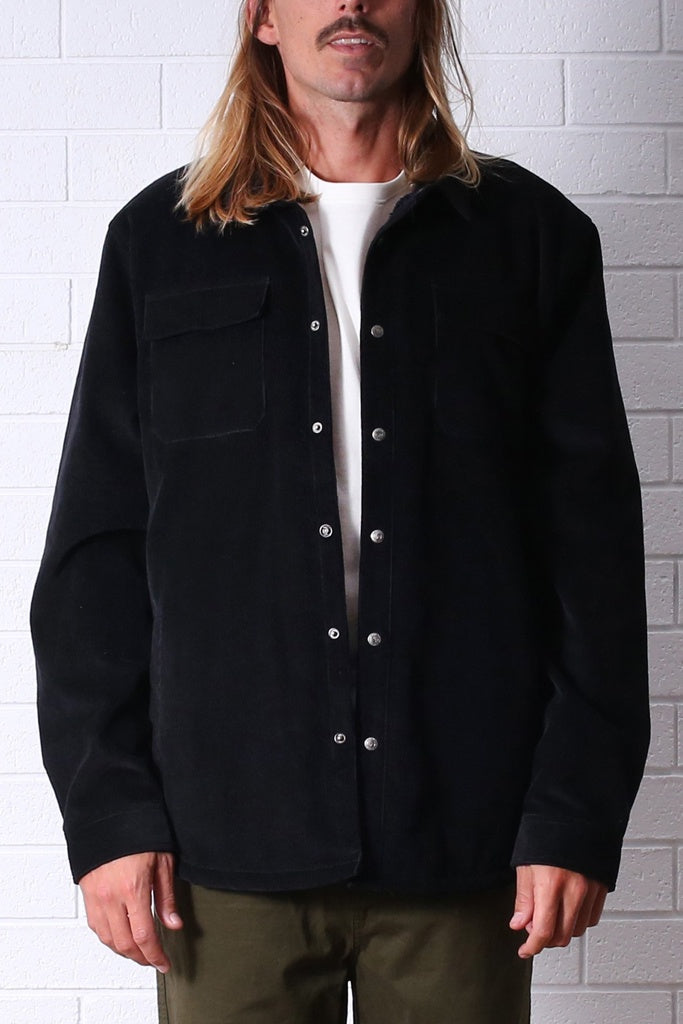 T&C The Ranch Sherpa Lined Jacket Black