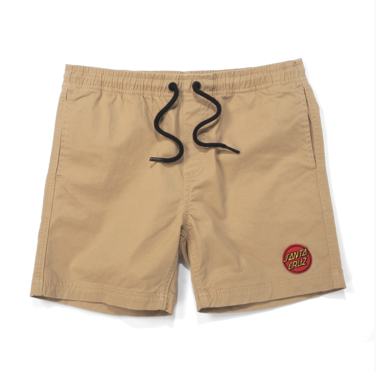 Santa Cruz Youth Heat Seeker Short Tan