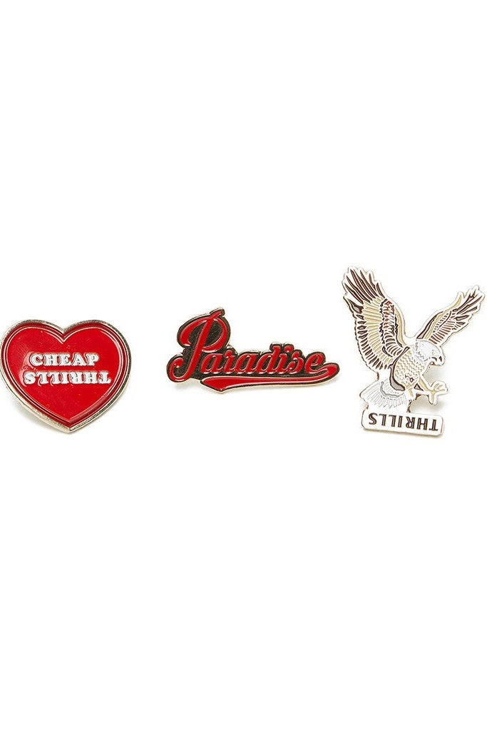 Thrills Pin Pack Heart Eagle