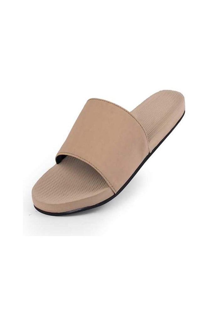 Indosole Womens Essentials Slide Light Soil