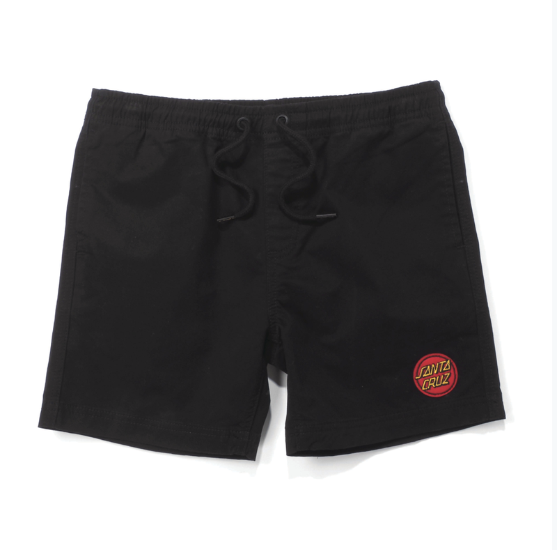 Santa Cruz Youth Heat Seeker Short Black