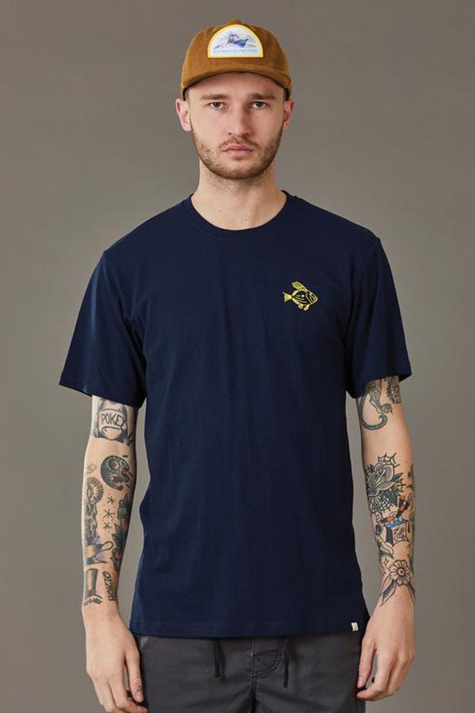 Just Another Fisherman Dory Tee Navy