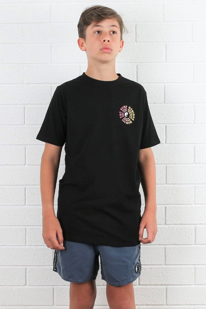 T&C Youth Vortex 2 Tee Black