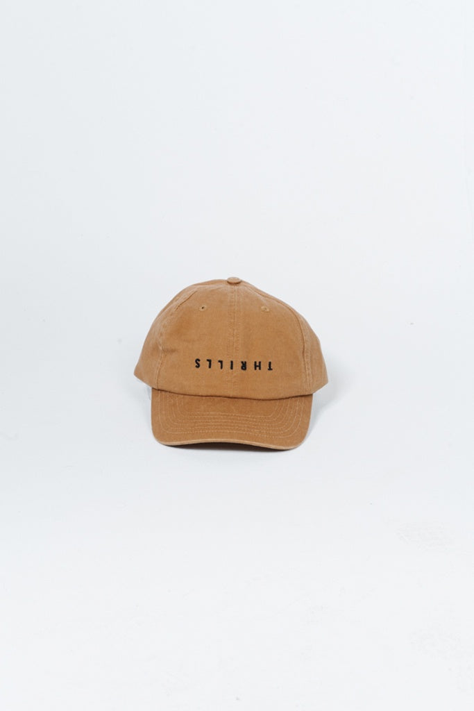 Thrills Minimal Cap Golden Brown