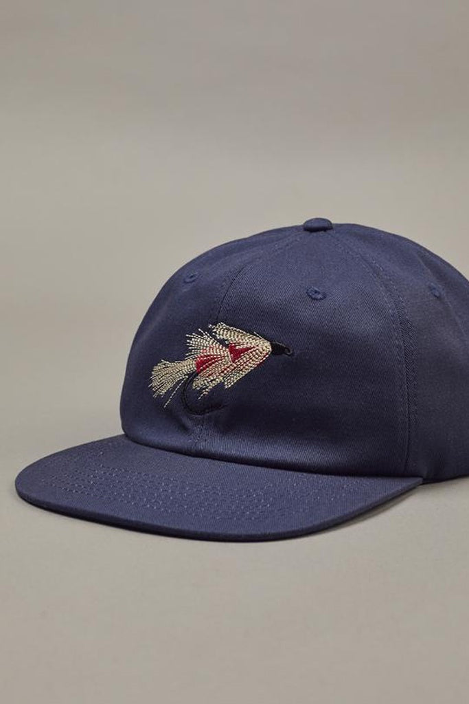 Just Another Fisherman Fly Cap Navy