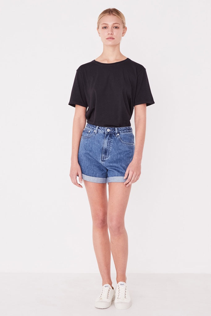 Assembly Rolled Hem Shorts Vintage Blue