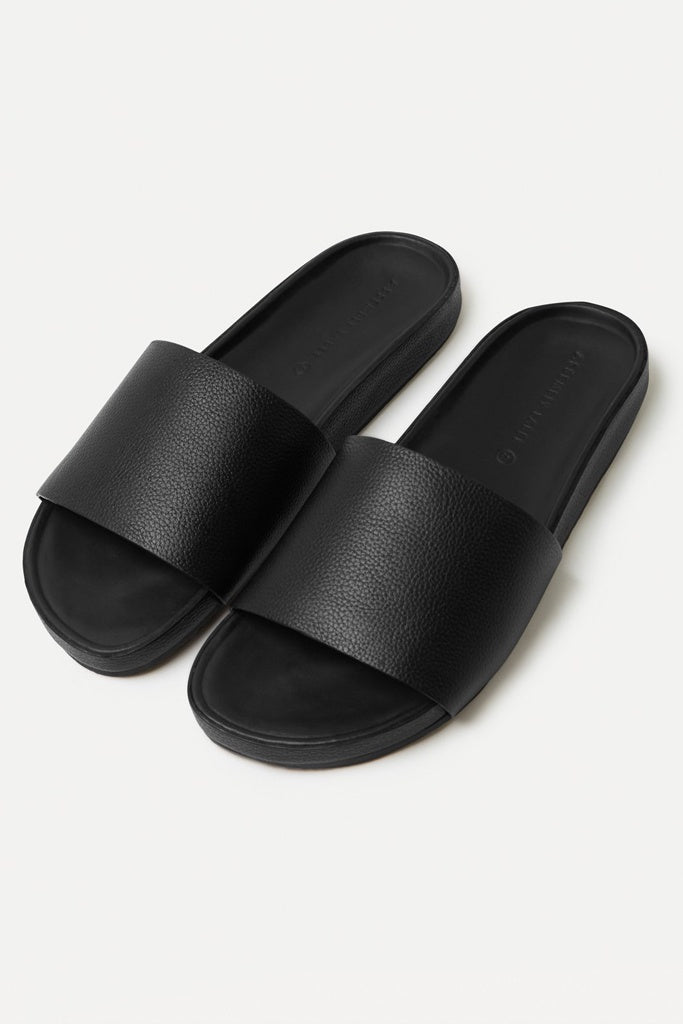 Assembly Single Strap Slide Womens Black