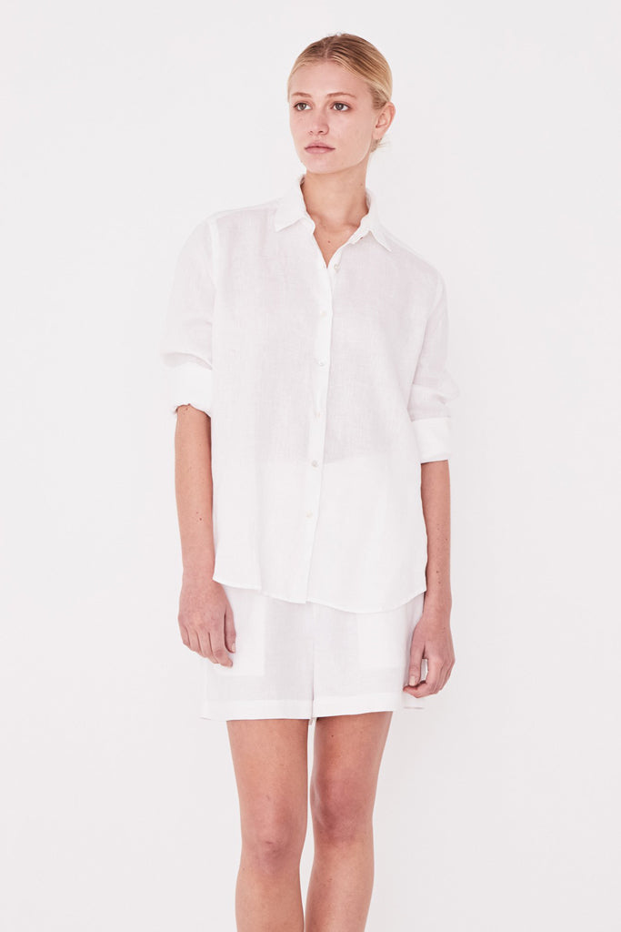 Assembly Short Sleeve Shirt White
