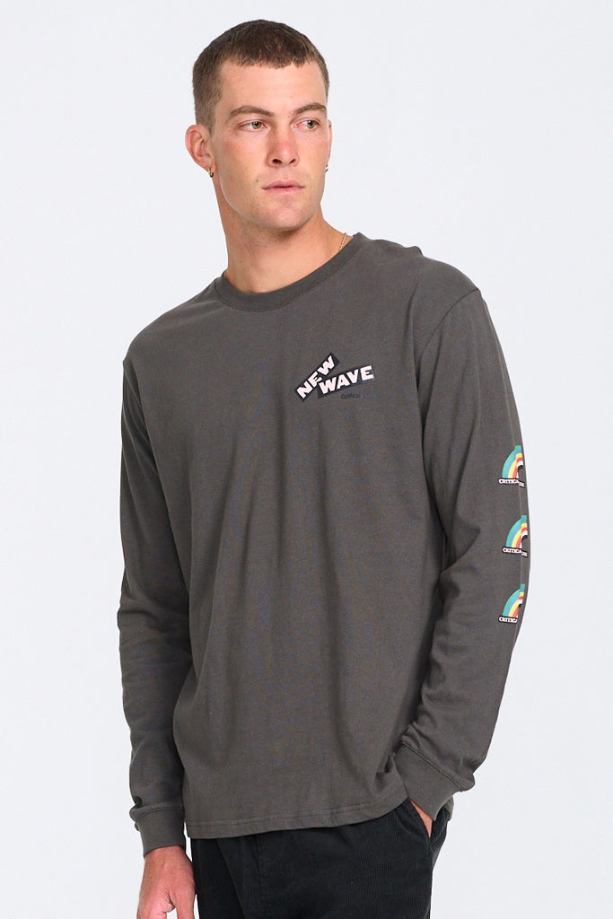 TCSS New Wave L/S Tee Charcoal