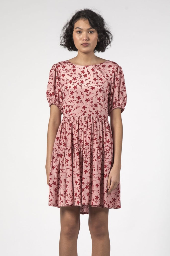 Thing Thing Poppy Dress Floral Pink