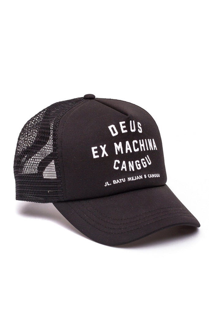 Deus Canggu Address Trucker Black
