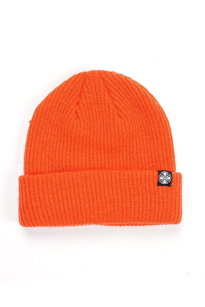 Independent Cross Wharfie Beanie Jaffa
