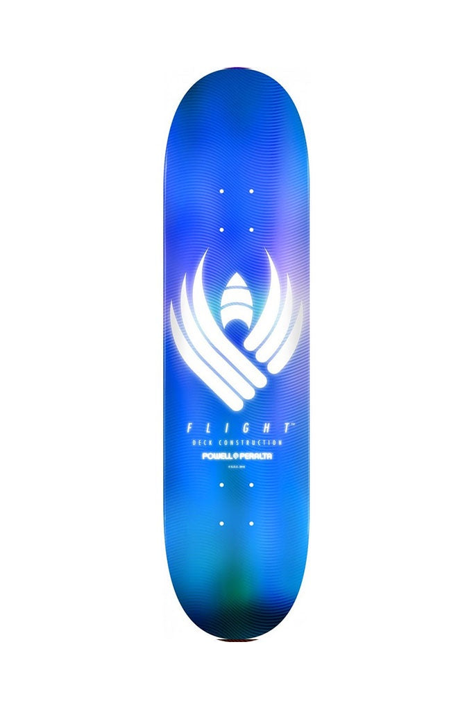Powell Peralta FLIGHT Deck GLOW Blue 9.05''