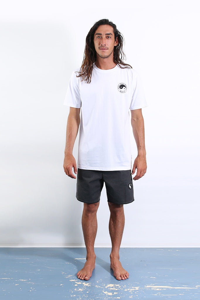 T&C Twisted Limits Tee White