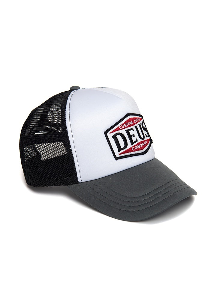 Deus American Twin Trucker Black