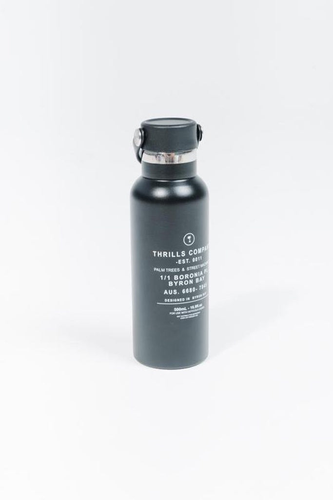 Thrills PTSM Water Bottle Black