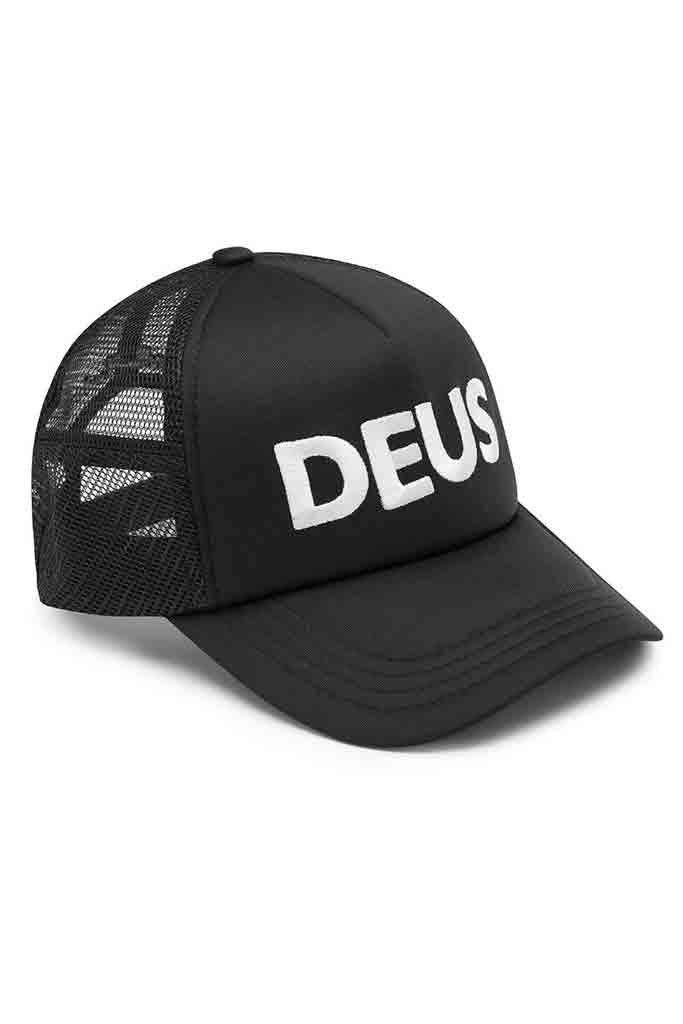 Deus Caps Trucker Black