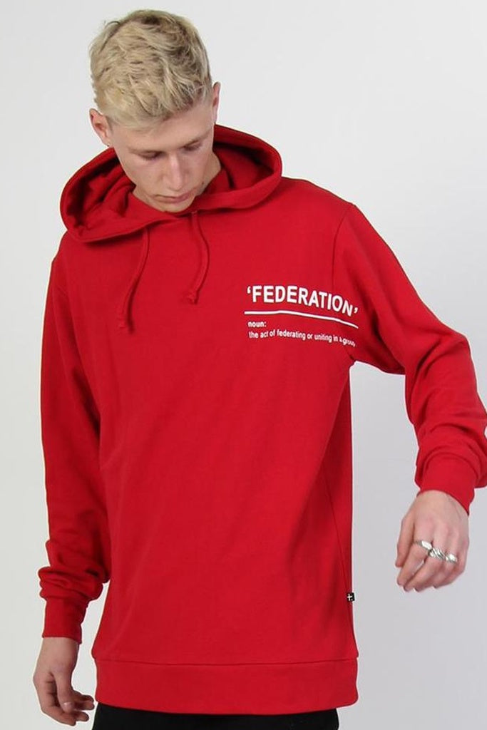 Federation Force Hood Dictionary Red