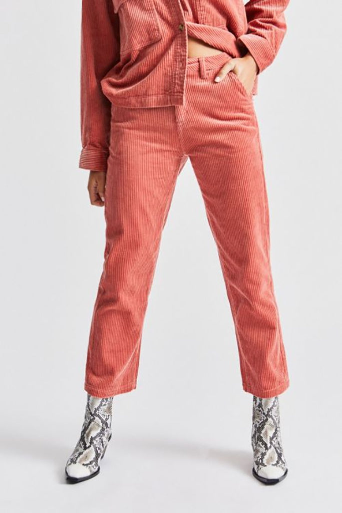 Brixton Victory Pant Dusty Rose