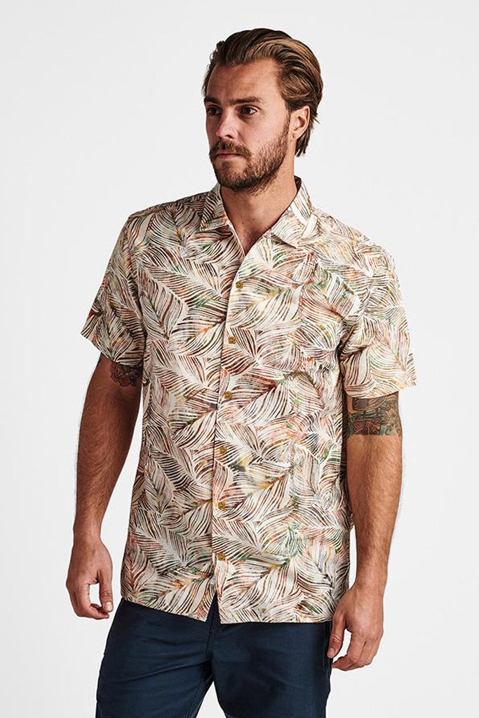 Roark Java SS Shirt Leaf Multi