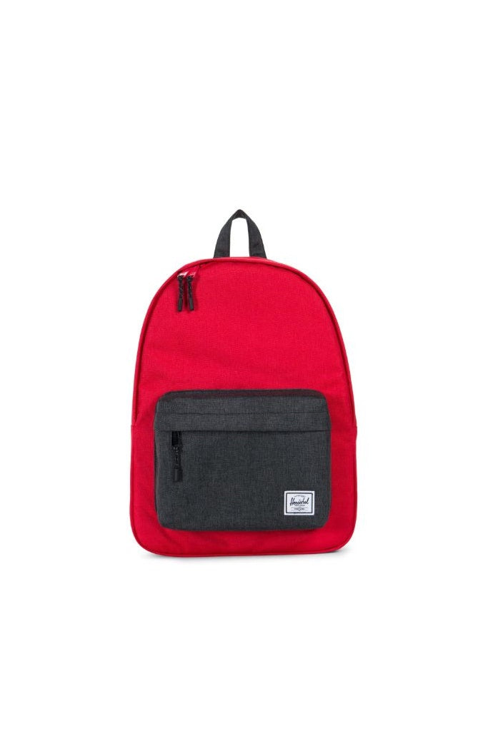 Herschel Classic Barbados Cherry Crosshatch/Black Crosshatch