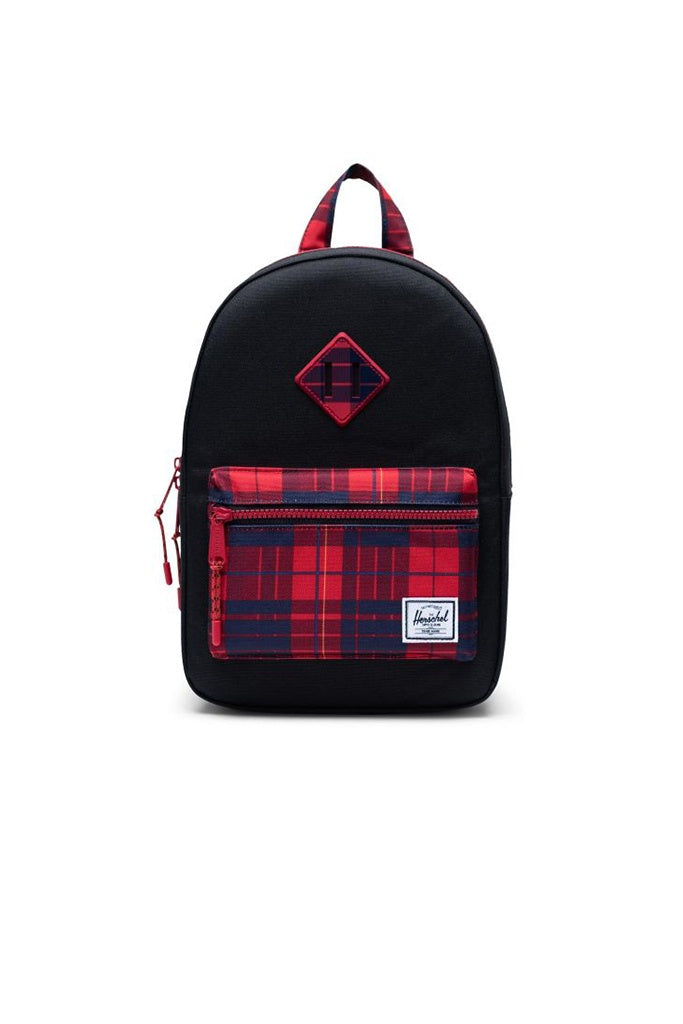 Herschel Heritage Youth Black Winter Plaid