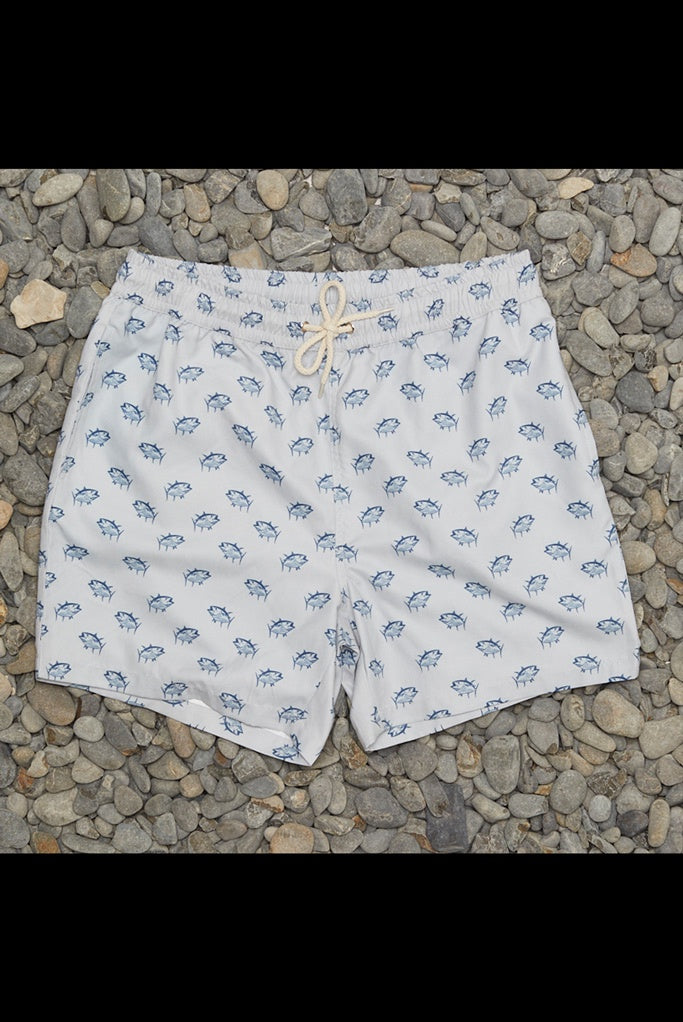 Just Another Fisherman Tuna Shorts Grey