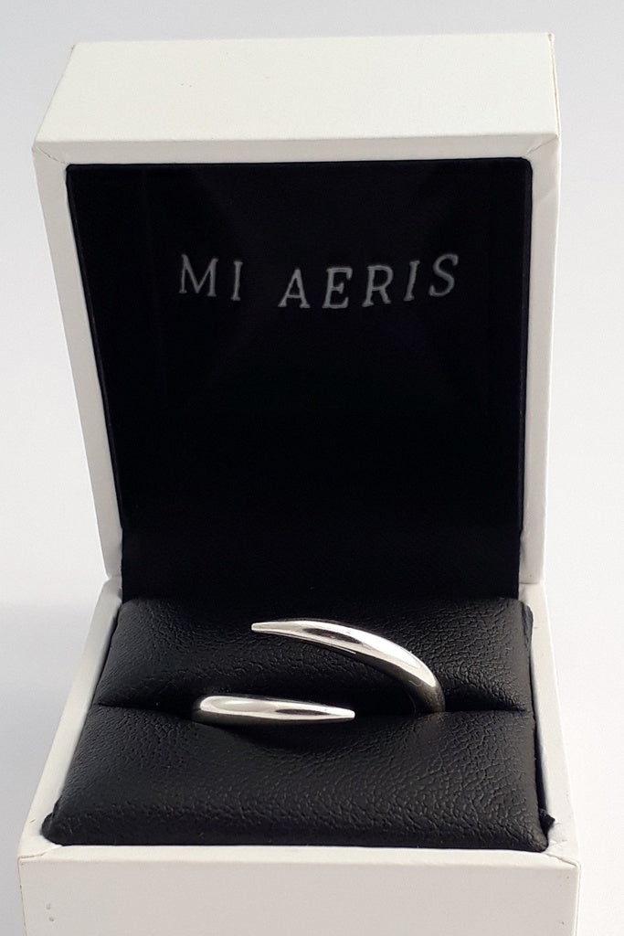 Mi Aeris Spike Ring Size 8.5