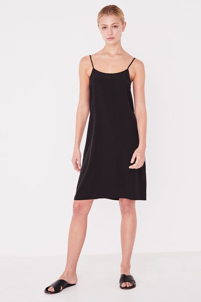 Assembly Malene Silk Dress Black