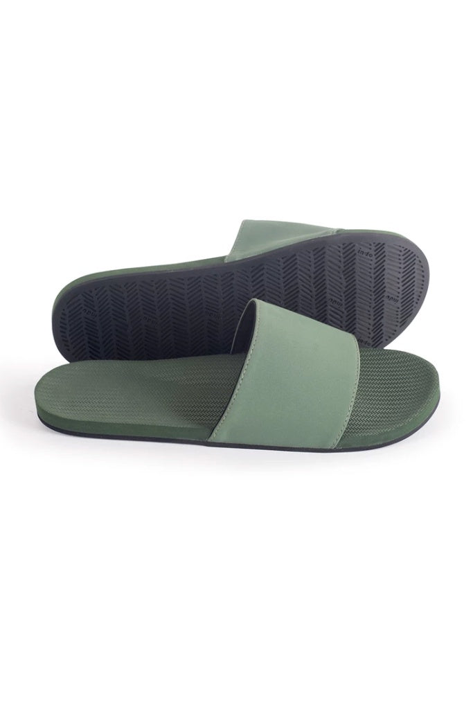 Indosole Mens Essentials Slide Leaf