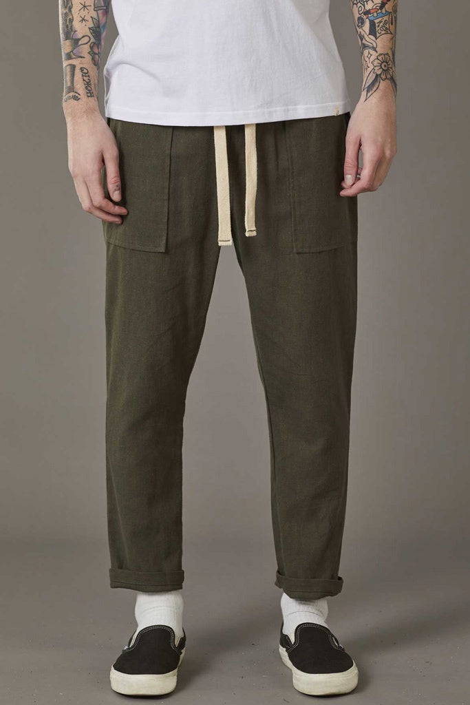 Just Another Fisherman Dinghy Pants Khaki