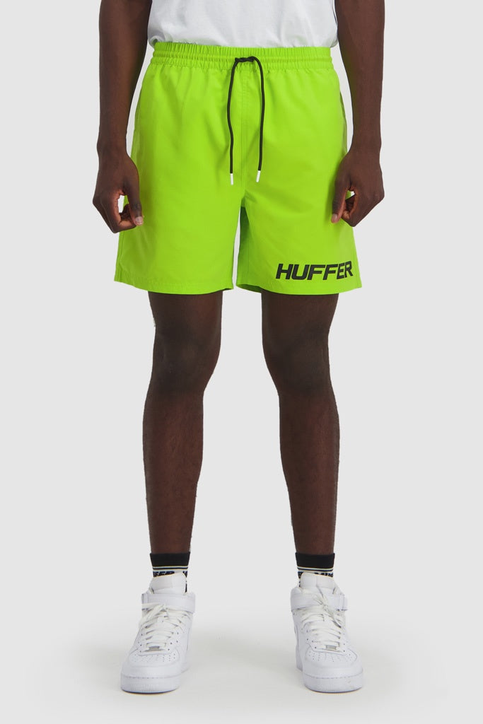 Huffer Staple Trunk Slant Fluro Green