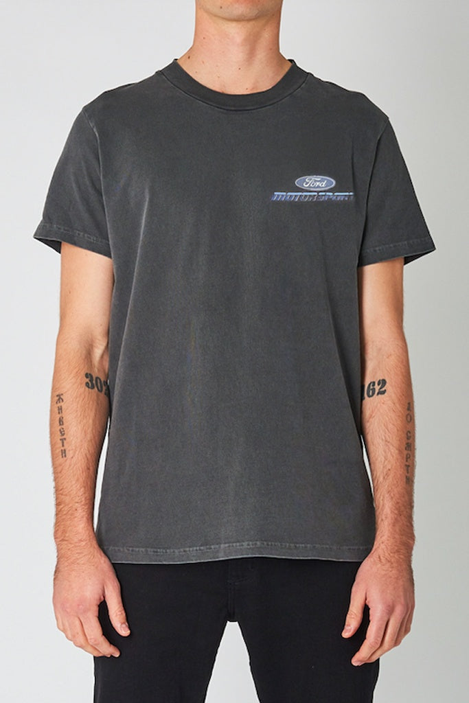Rollas Ford Motorsport Tee Washed Black