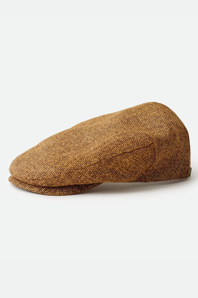Brixton Hooligan Straw Snap Cap Toffee