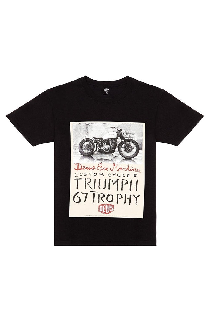 Deus Triumph Trophy Black