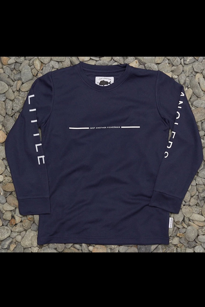Just Another Fisherman Mini UV LS Tee Navy
