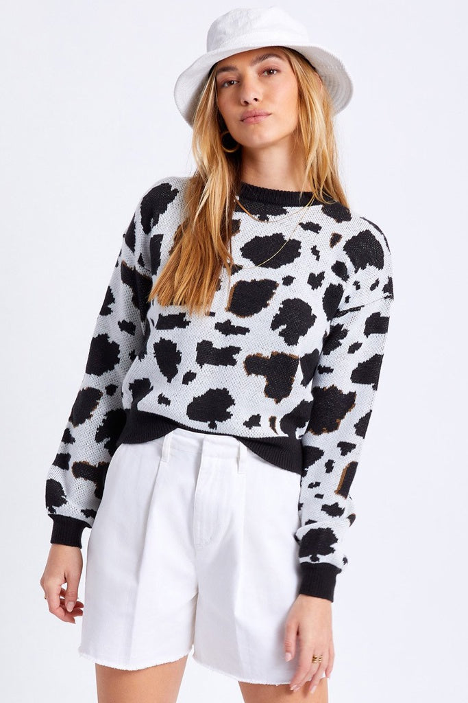Brixton Womens One Way Sweater Cattle