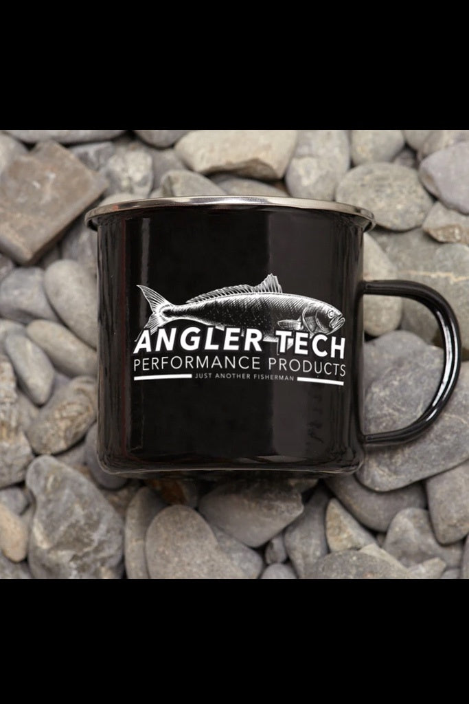 Just Another Fisherman Angler Tech Mug Black