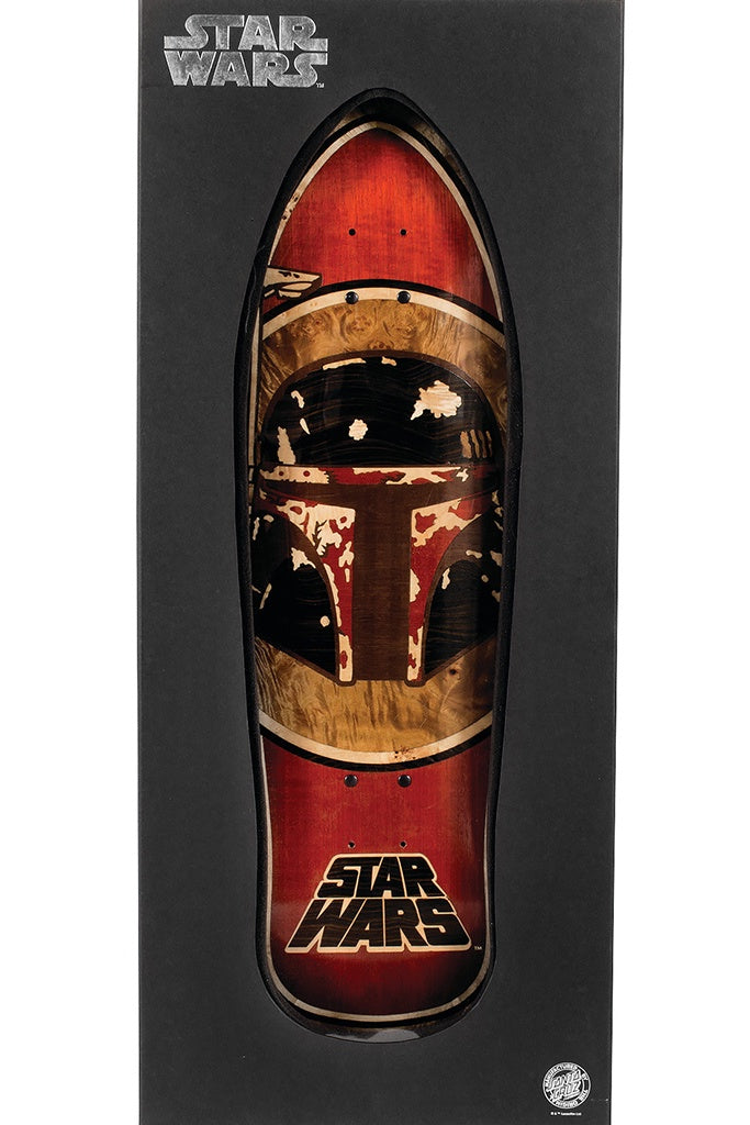 Santa Cruz Star Wars Boba Fett Inlay 10.35 x 3.11