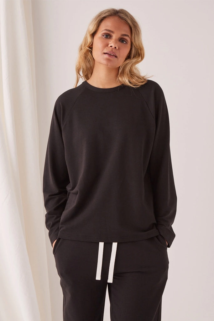 Assembly Kin Fleece Top Black